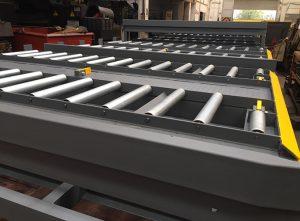 Steel fabricated bulk material handling equipment - conveyor rollers for logistics management