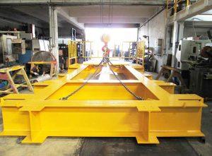 Yellow Metal Fabricated Offshore Skid
