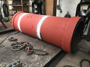 Marine Welded Pipe with Flange